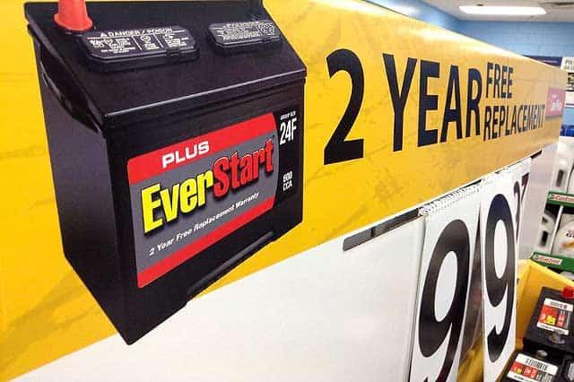 Car Battery Warranty