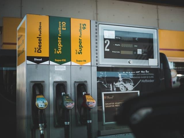 photo of gasoline