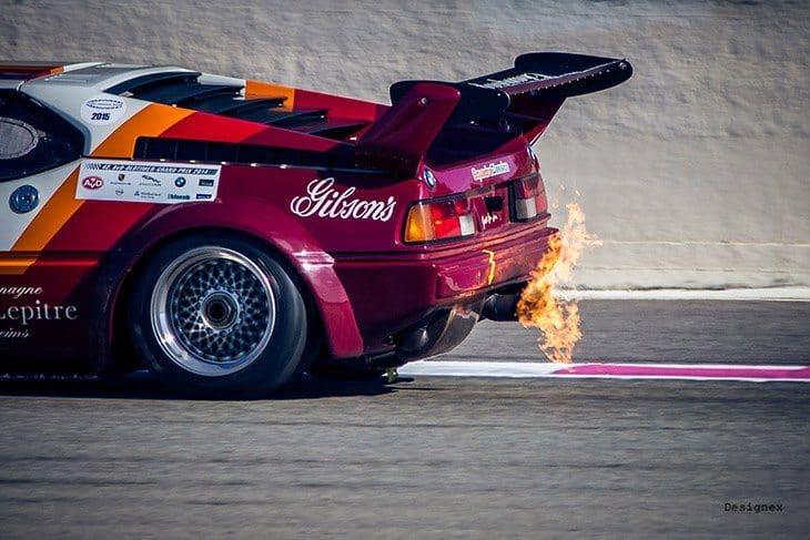 engine backfires