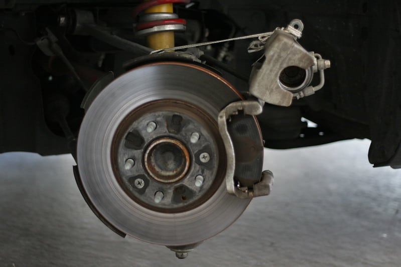picture of car brakes