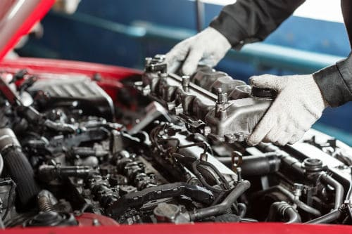 does replacing engine affect value car