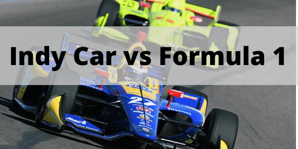 Indy Car vs Formula 1