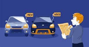 new vs used car