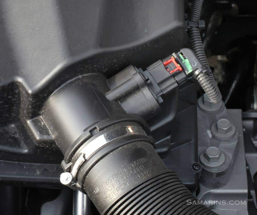 faulty mass air flow sensor