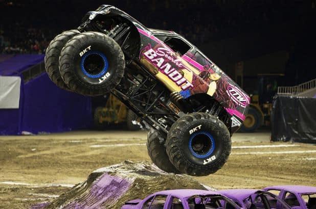 monster truck racing car