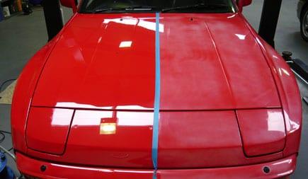 clear coat car paint