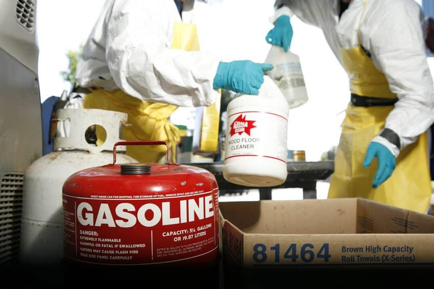 Gasoline Disposal Center