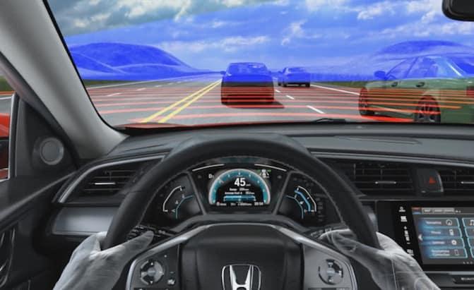 Honda-Adaptive-Cruise-Control
