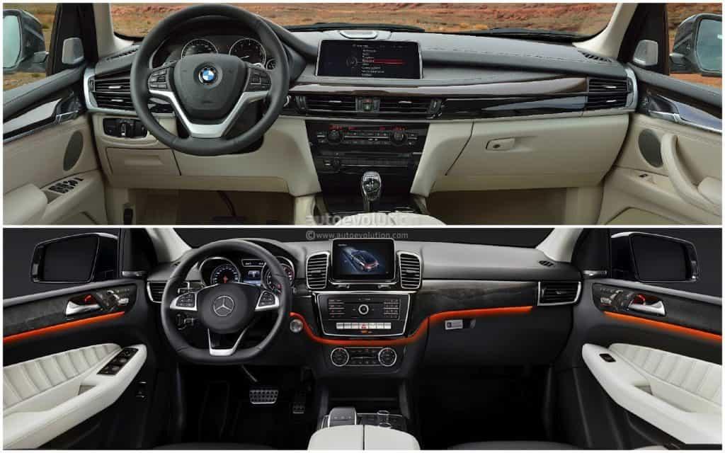 Mercedes vs BMW Interior
