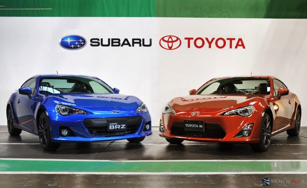 Subaru BRZ-Toyota GT86