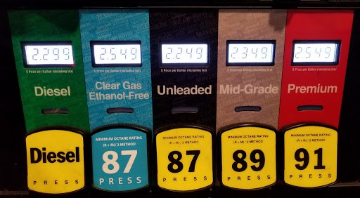 Types of Gasoline
