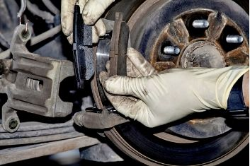 Installation of brake
