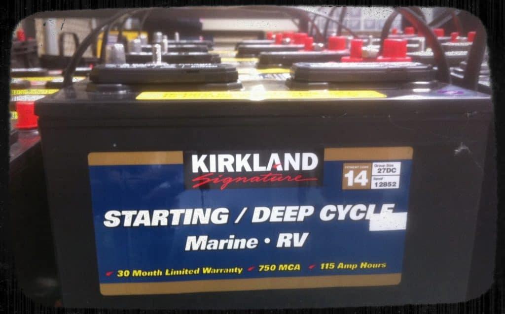 Kirkland signature marine