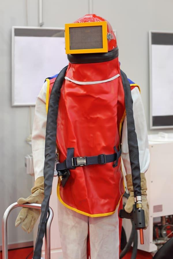Sandblasting PPE