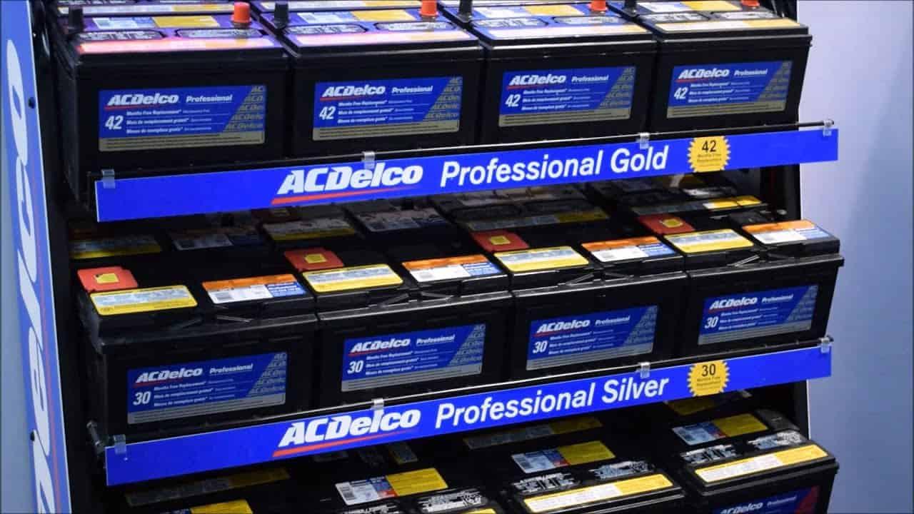 Read ADelco Battery Code