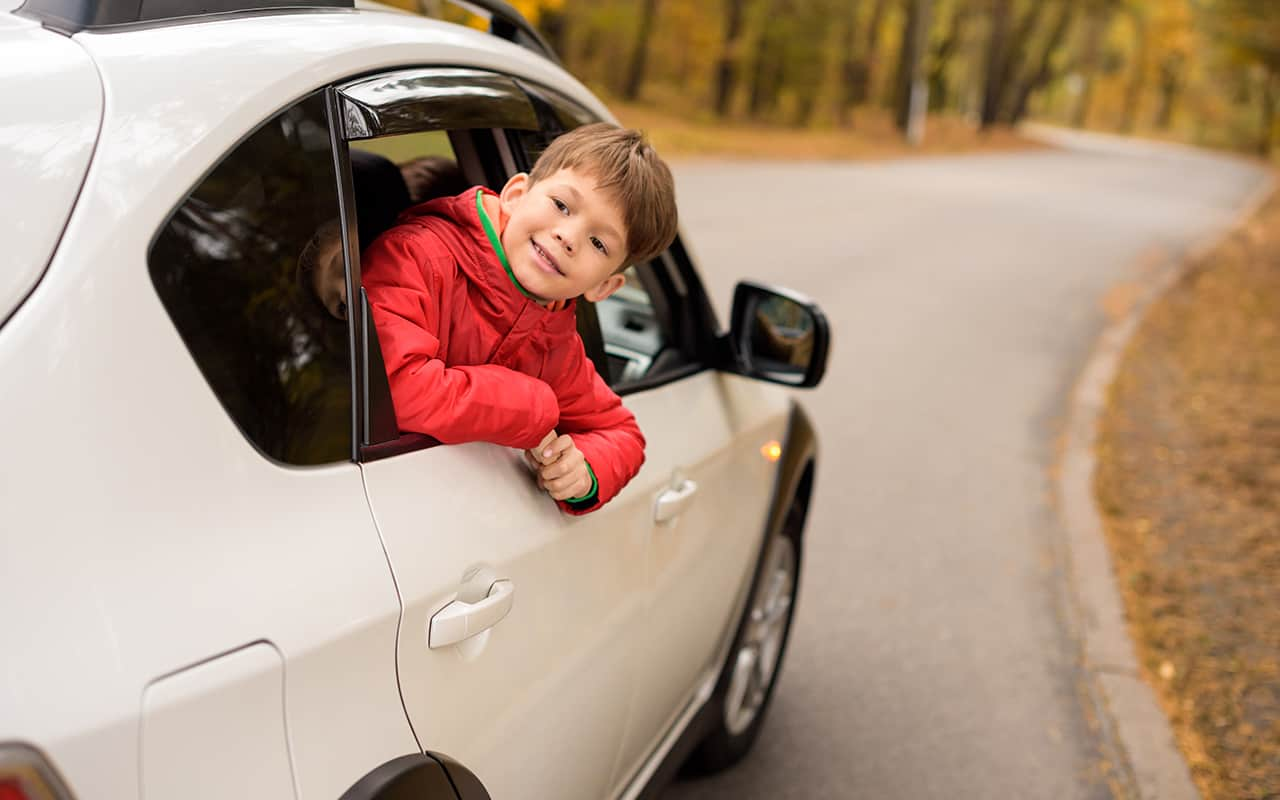California Car Seat Laws for taking out children