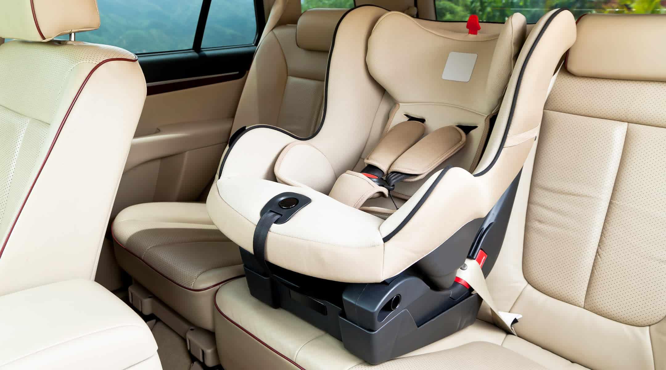 California Car Seat Laws for babies